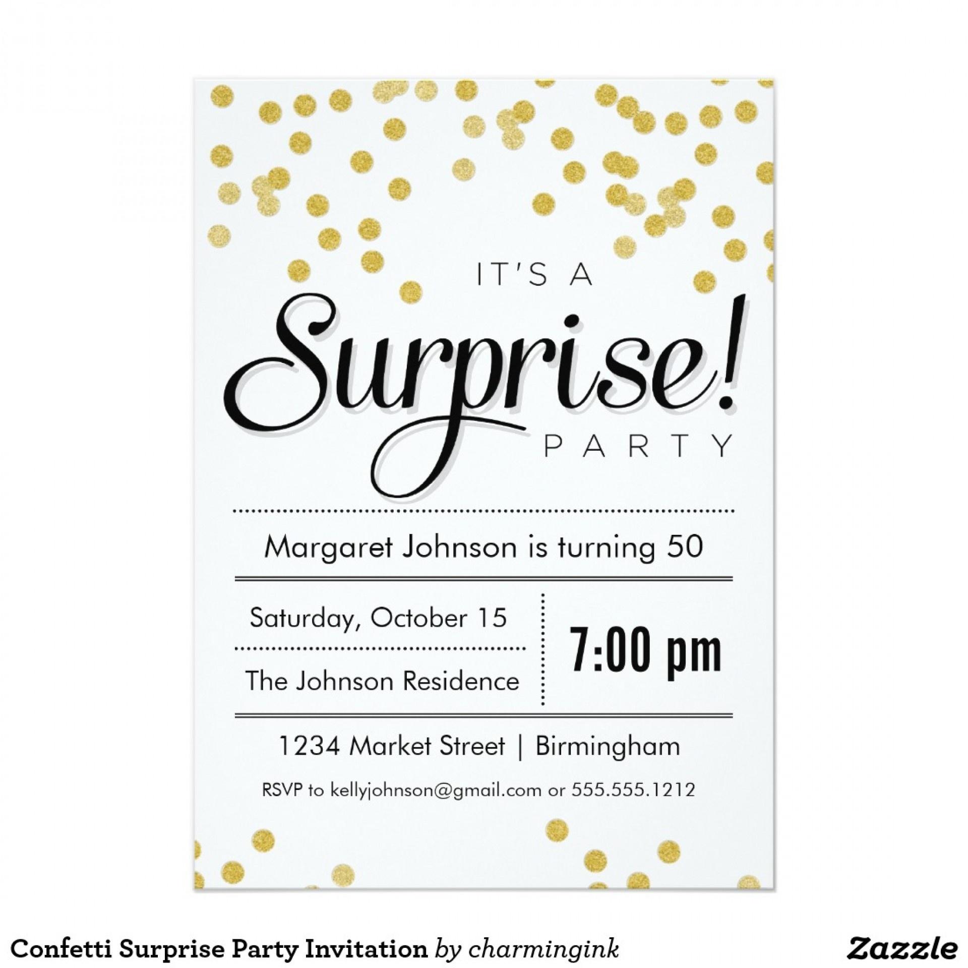 002 Surprise Party Invitation Templates Template Singular Ideas 60Th - Free Printable Surprise Party Invitation Templates