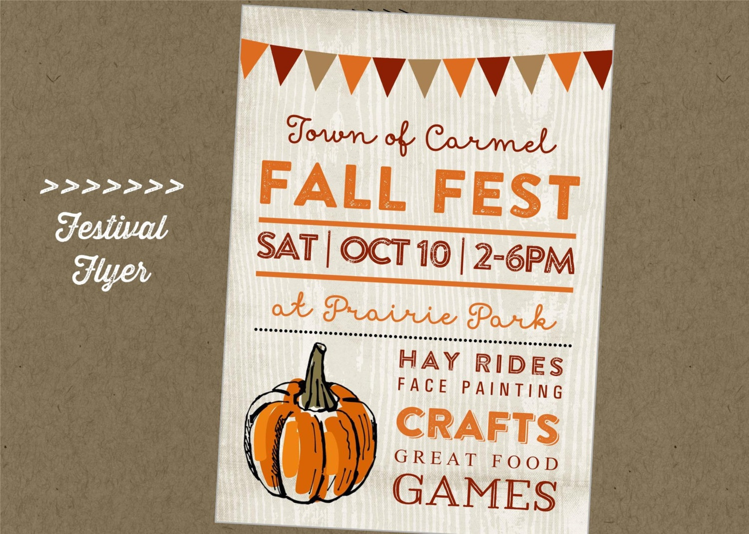 010 Fall Festival Flyer Templates Free Template Frightening Ideas - Free Printable Fall Festival Flyer Templates