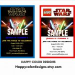 011 Star Wars Birthday Invitations Template Elegant Free Invitation   Free Printable Star Wars Baby Shower Invites