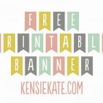 012 Free Printable Banner Template Welcome Home Of Freebie Friday   Free Printable Welcome Banner Template