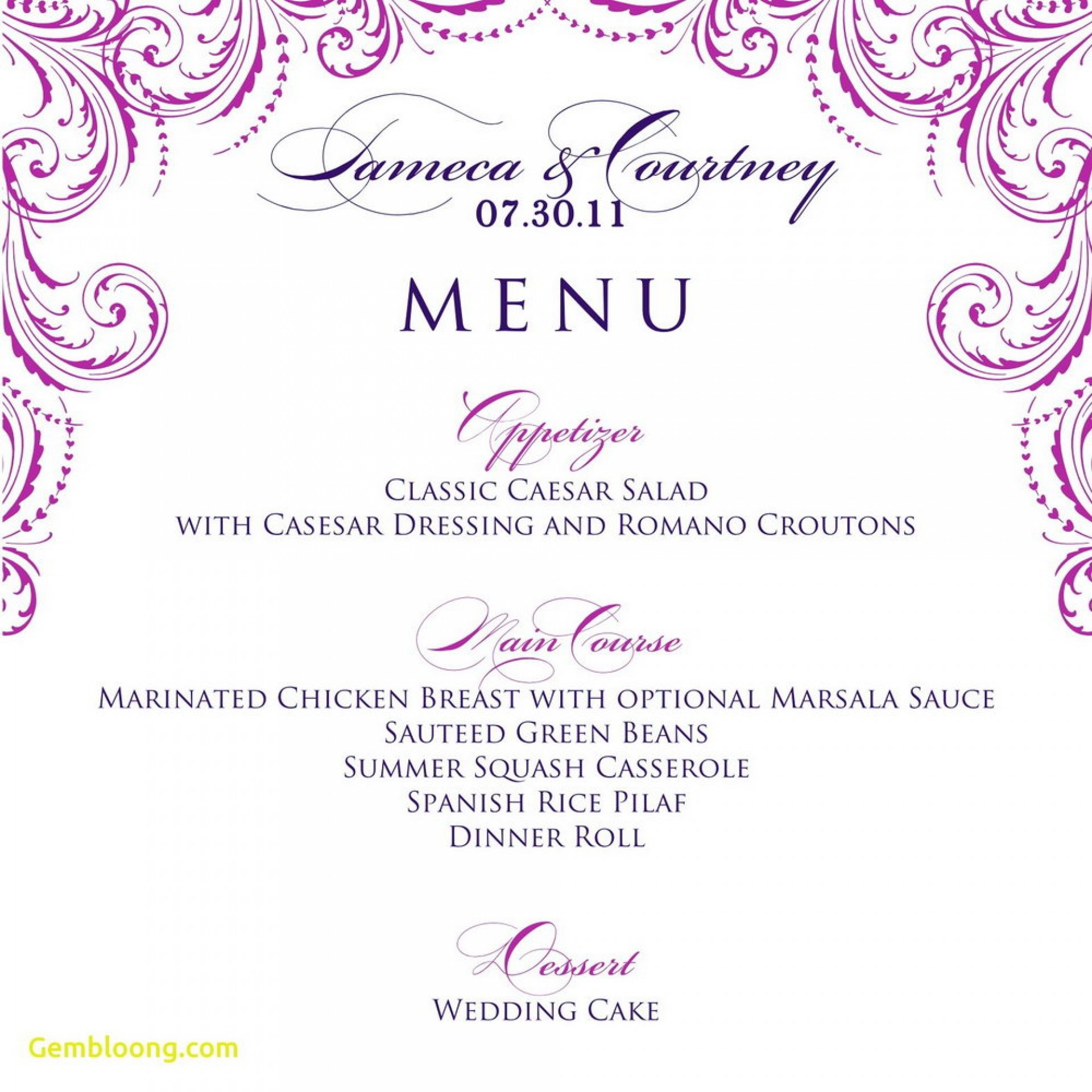 016 Template Ideas Free Printable Dinner Party Menu Marvelous - Free Printable Dinner Party Menu Template