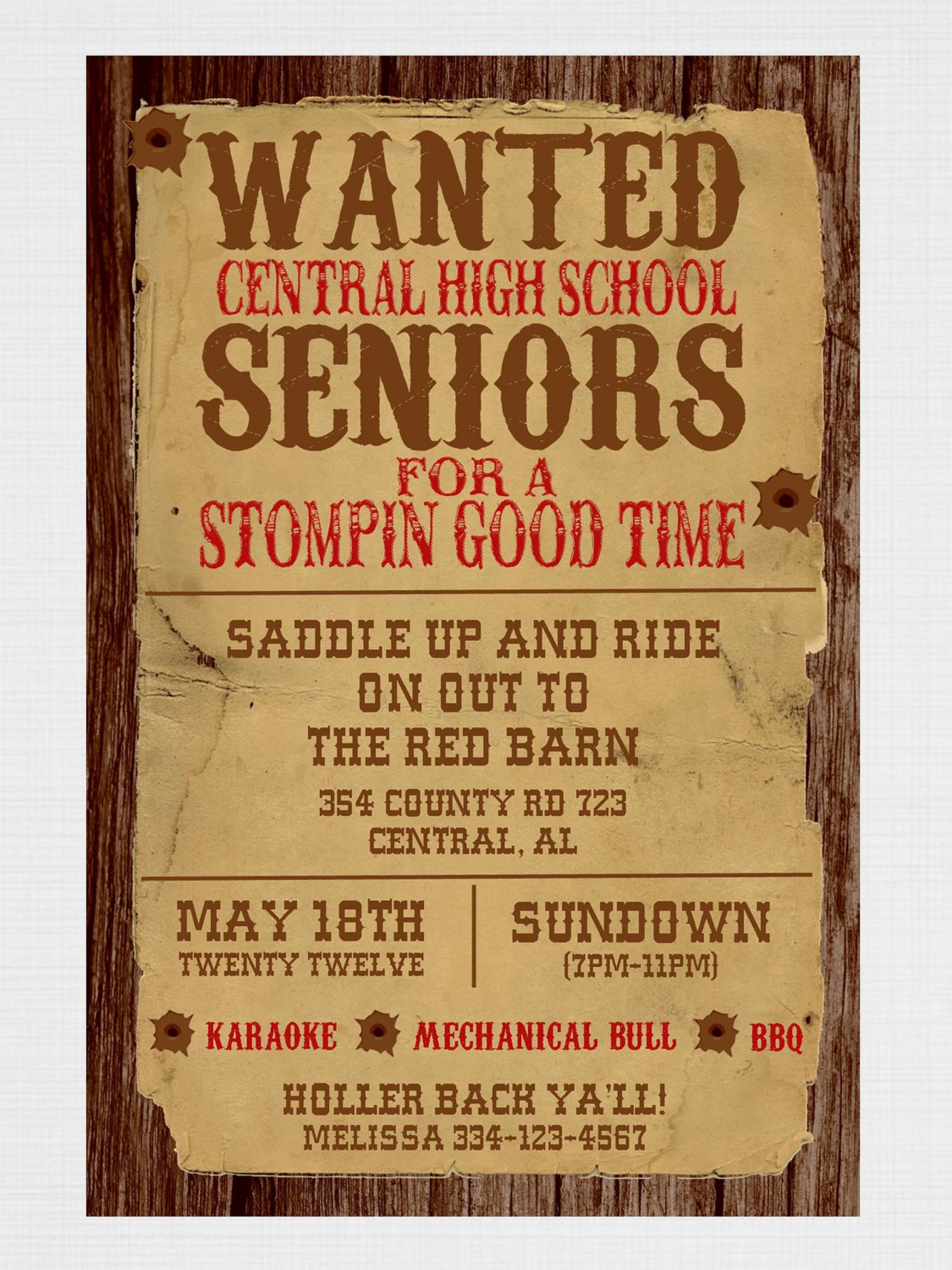 017 Template Ideas Free Wanted Poster Printable Western Party - Free Printable Wanted Poster Invitations