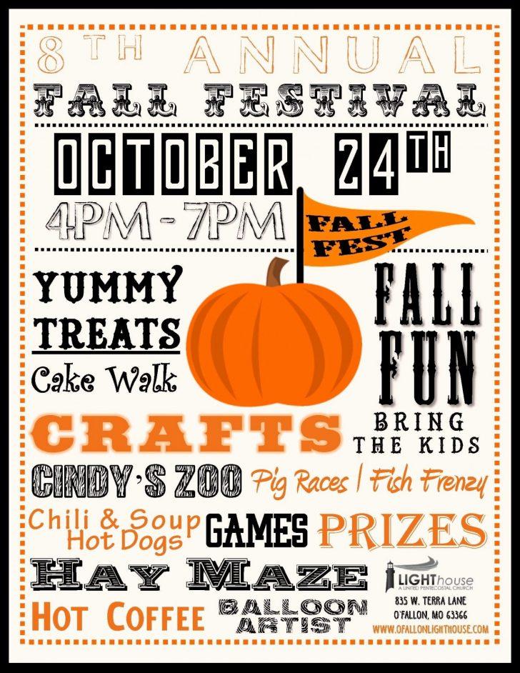 Free Printable Fall Festival Invitations