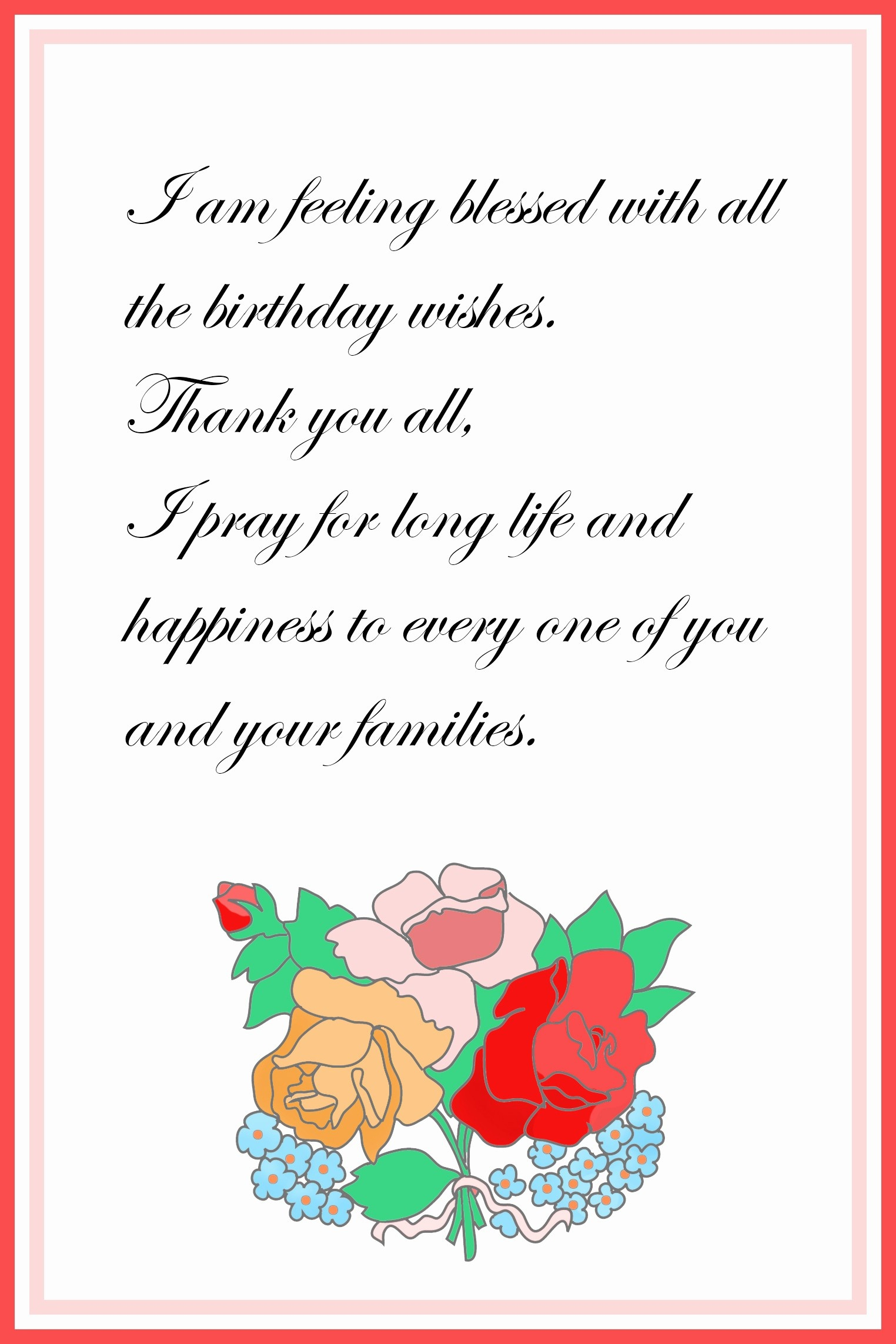 021 Hallmark Thank You Card Template Awesome Printable Free Birthday - Free Printable Hallmark Birthday Cards