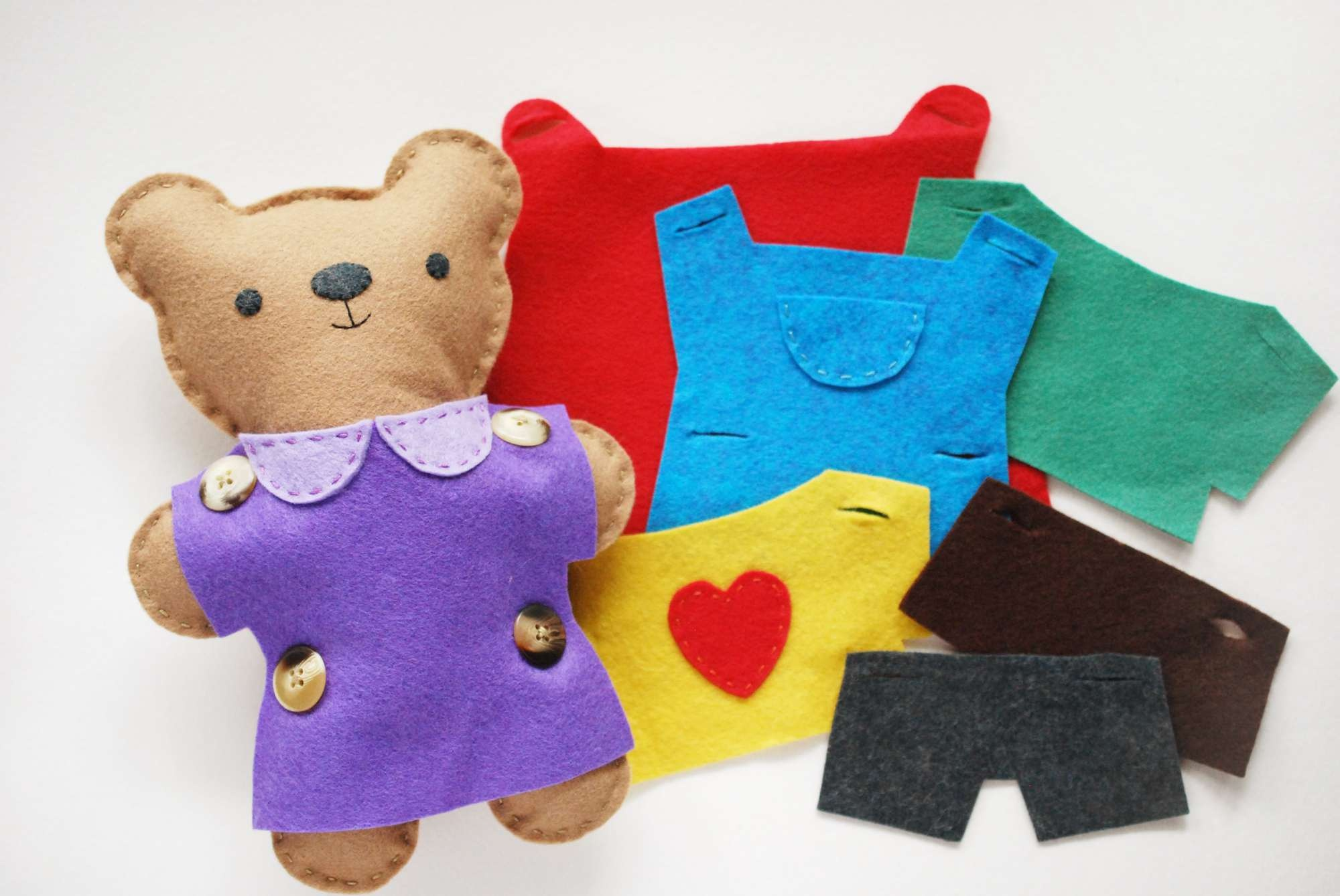 10 Adorable Teddy Bear Sewing Patterns - Free Printable Teddy Bear Clothes Patterns