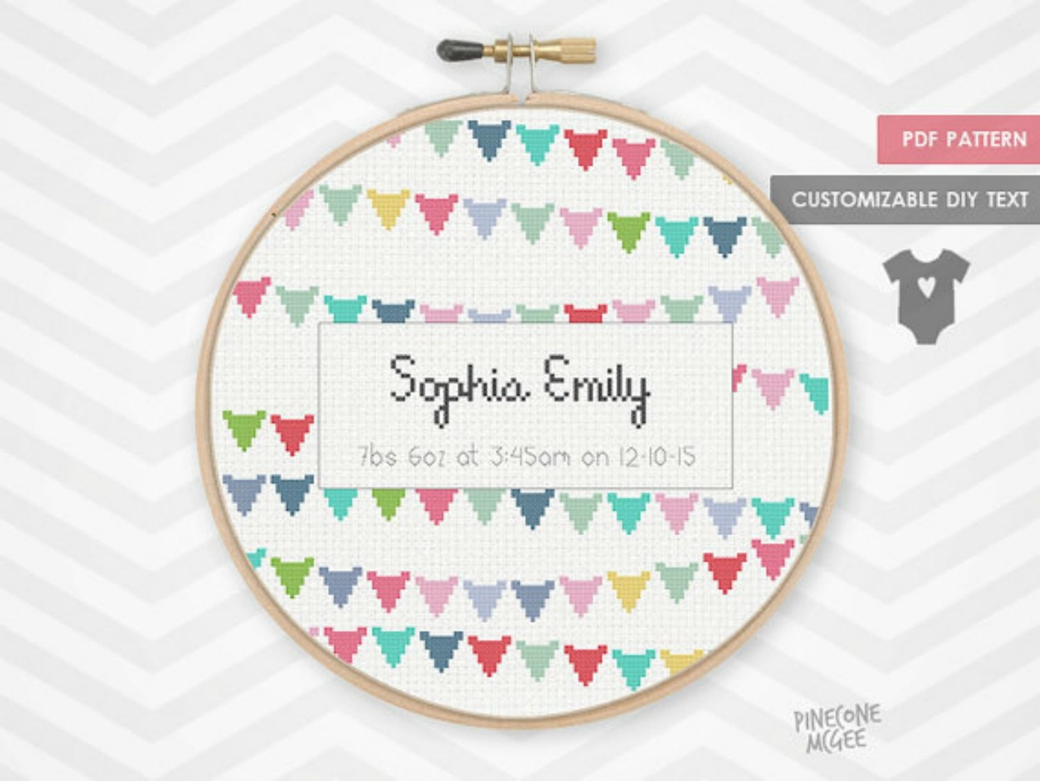 10 Baby Announcement Cross Stitch Patterns - Baby Cross Stitch Patterns Free Printable