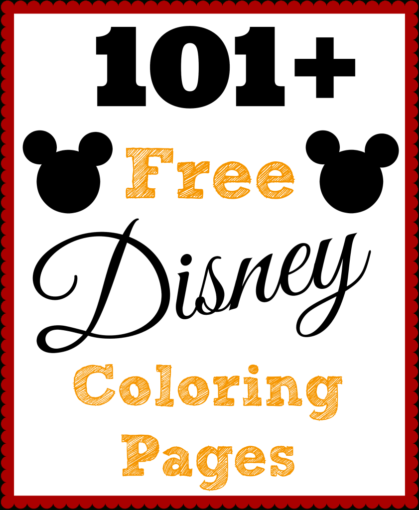 101 Free Printable Disney Coloring Pages • The Diary Of A Real Housewife - Free Printable Disney Coloring Pages