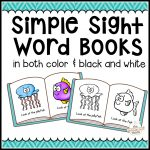 104 Simple Sight Word Books In Color & B/w   The Measured Mom   Free Printable Reading Books For Preschool