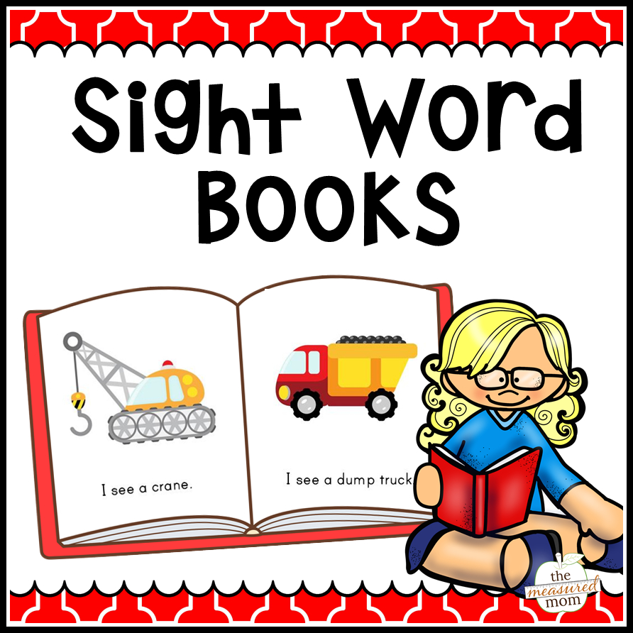 108 Sight Word Books - The Measured Mom - Free Printable Reading Books For Preschool
