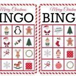 11 Free, Printable Christmas Bingo Games For The Family   Free Printable Christmas Bingo