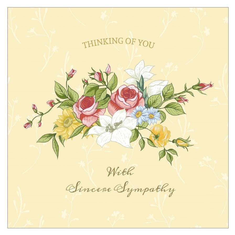 11 Free, Printable Condolence And Sympathy Cards - Free Printable Sympathy Cards For Loss Of Dog