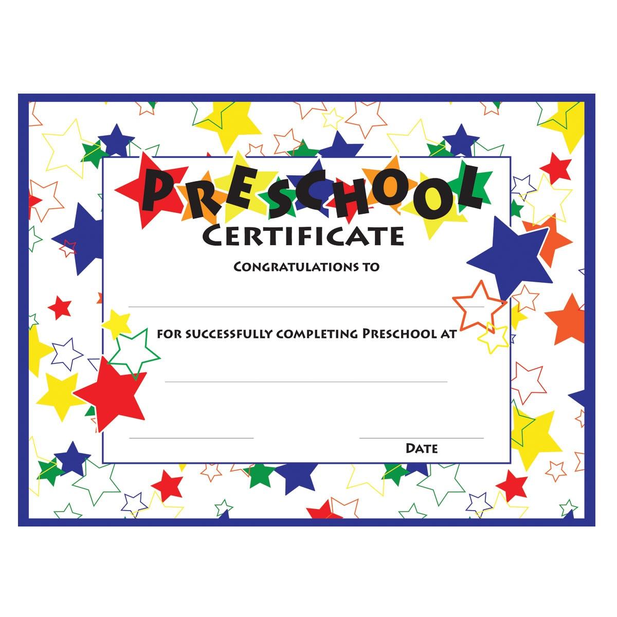 11+ Preschool Certificate Templates - Pdf | Free & Premium Templates - Free Printable Children's Certificates Templates