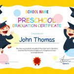 11+ Preschool Certificate Templates   Pdf | Free & Premium Templates   Free Printable Children's Certificates Templates