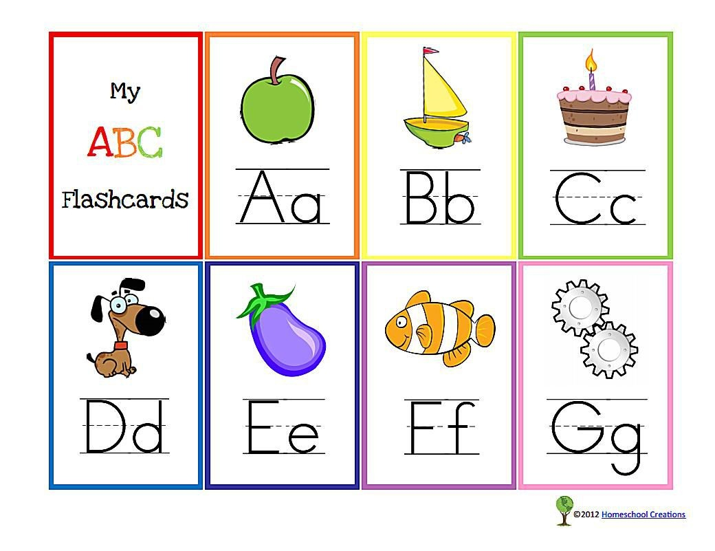 11 Sets Of Free, Printable Alphabet Flashcards - Free Printable Lower Case Letters Flashcards