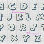 12 Disney Font Letter Printables Images – Disney Font Alphabet – Free Printable Disney Font Stencils