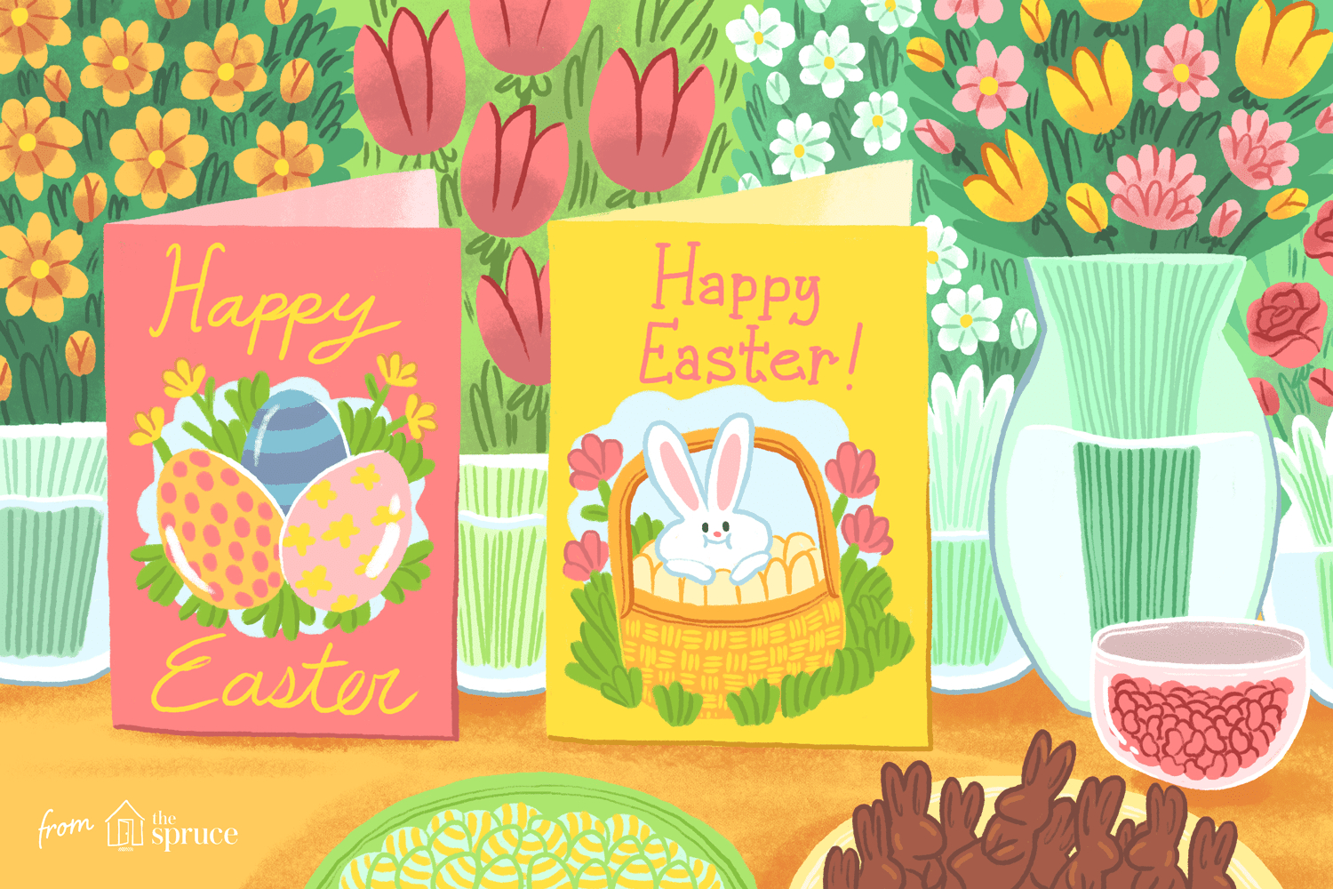 12 Free, Printable Easter Cards For Everyone You Know - Free Printable Easter Greeting Cards