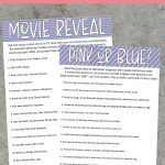 12 Of The Best Gender Reveal Party Games Ever – Play Party Plan – Free Printable Gender Reveal Templates
