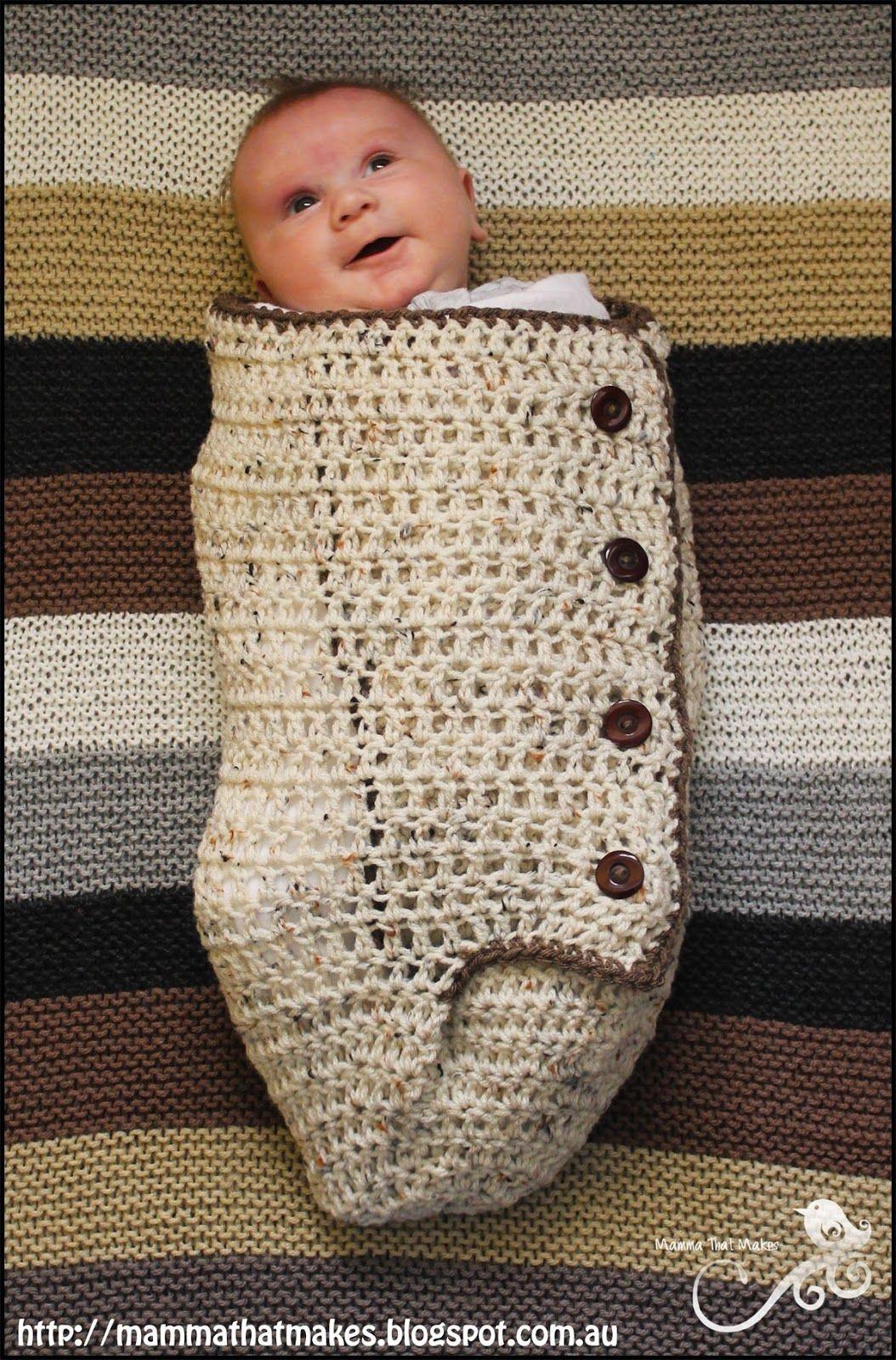 15 Gorgeous Baby Cocoon Patterns | Crochet | Newborn Crochet - Free Printable Crochet Patterns For Baby Cocoons