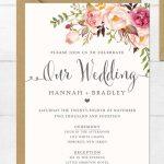 16 Printable Wedding Invitation Templates You Can Diy | Diy Details   Free Printable Wedding Invitation Templates