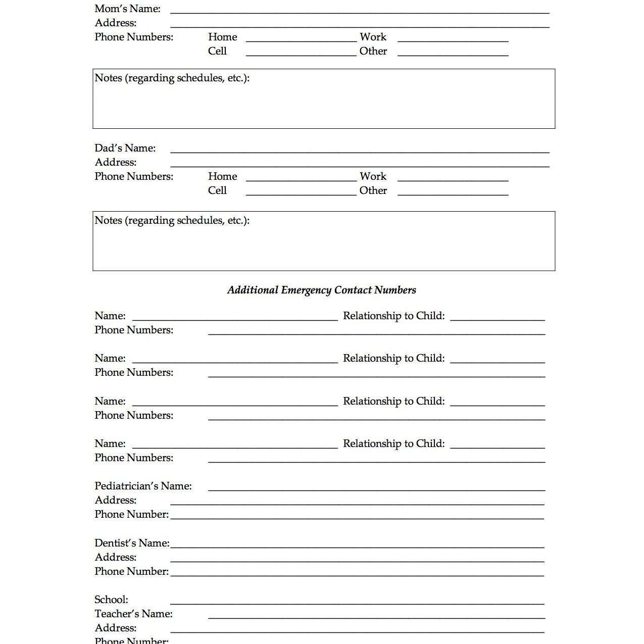 17 Beautiful Free Printable Adoption Papers | Papersample - Free Printable Adoption Papers