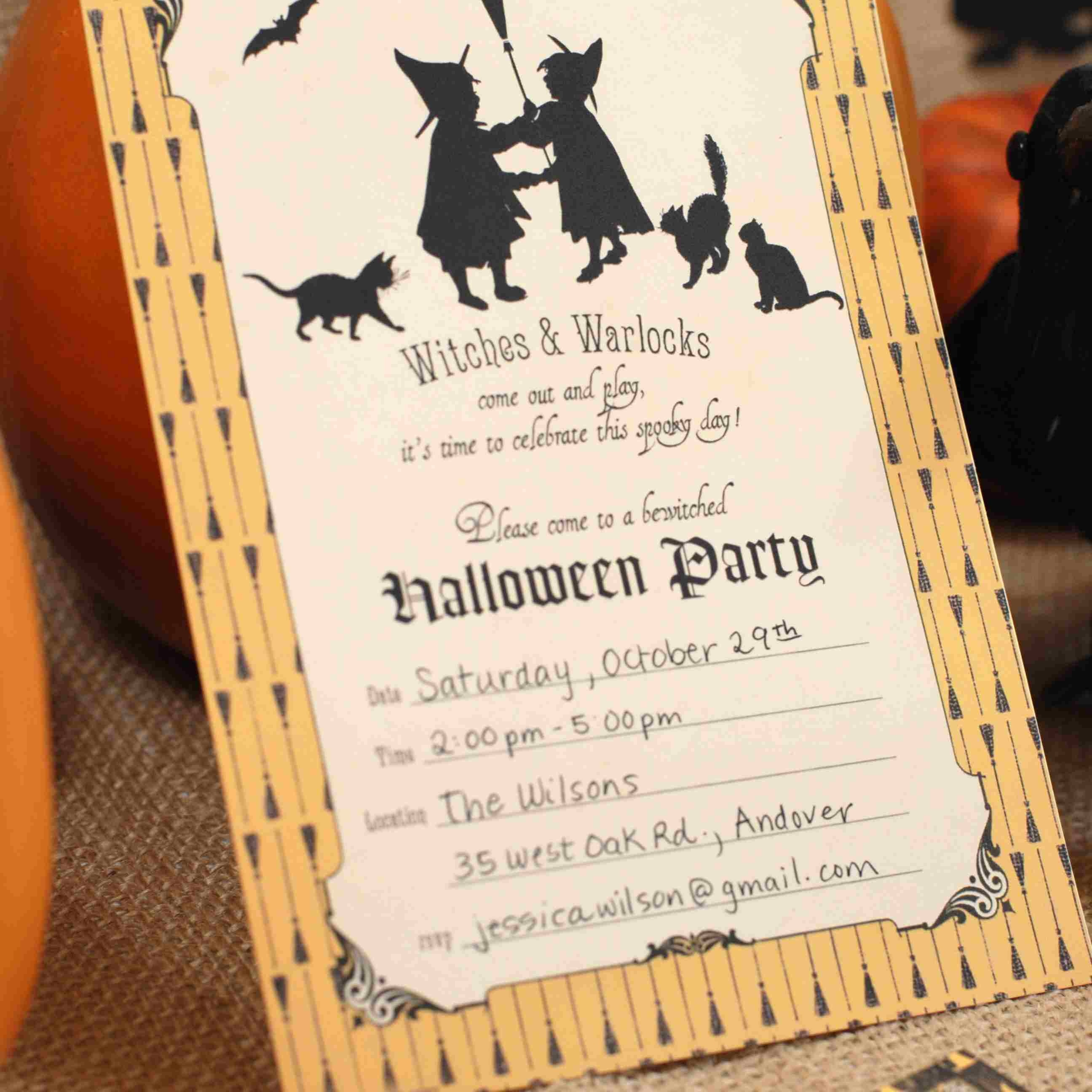 17 Free Halloween Invitations You Can Print From Home - Free Printable Halloween Invitations For Adults