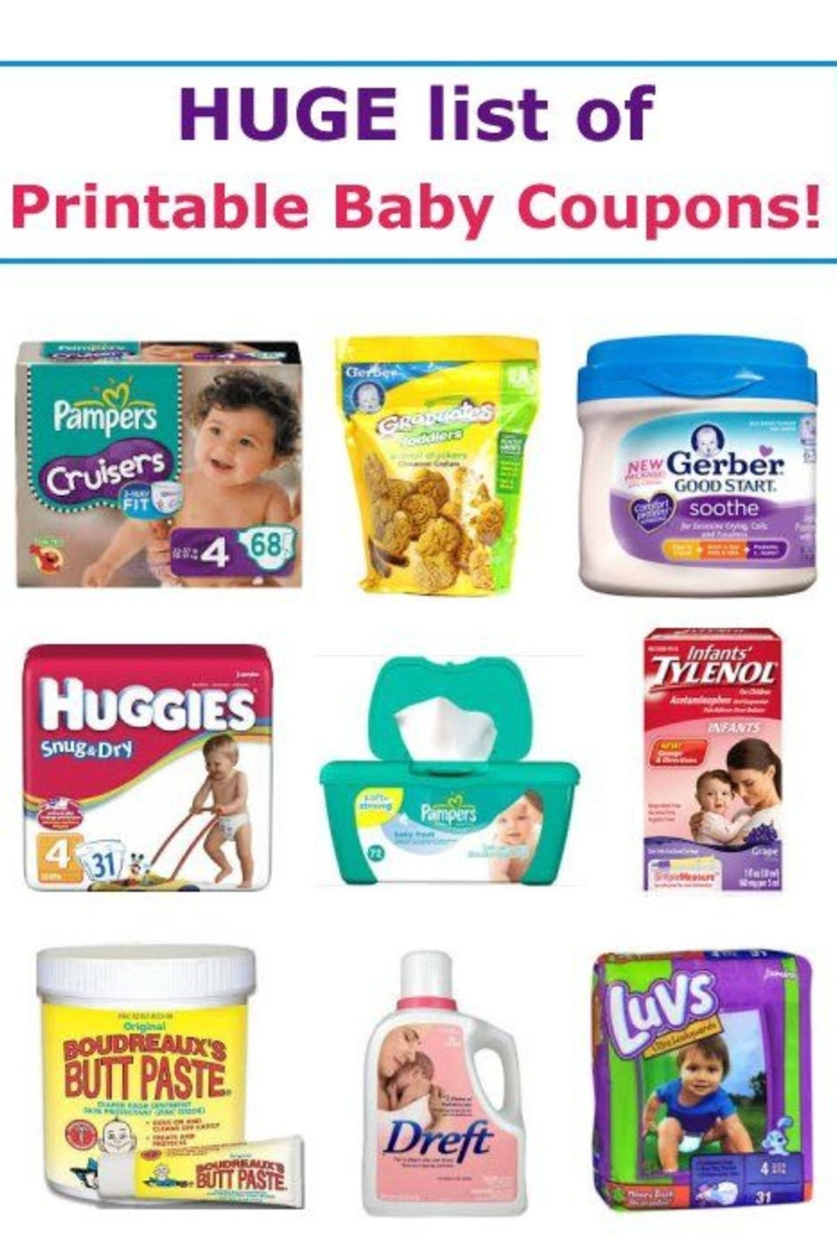 17 Printable Baby Coupons | Baby On A Budget | Baby Coupons, Baby - Free Baby Formula Coupons Printable
