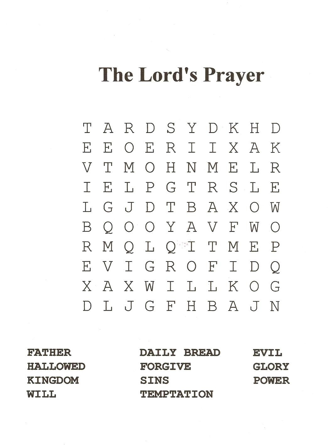 18 Fun Printable Bible Word Search Puzzles | Kittybabylove - Free Printable Catholic Word Search