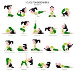 20 Easy Yoga Poses For Beginners With A Free Printable … | Yoga And   Free Printable Yoga Poses