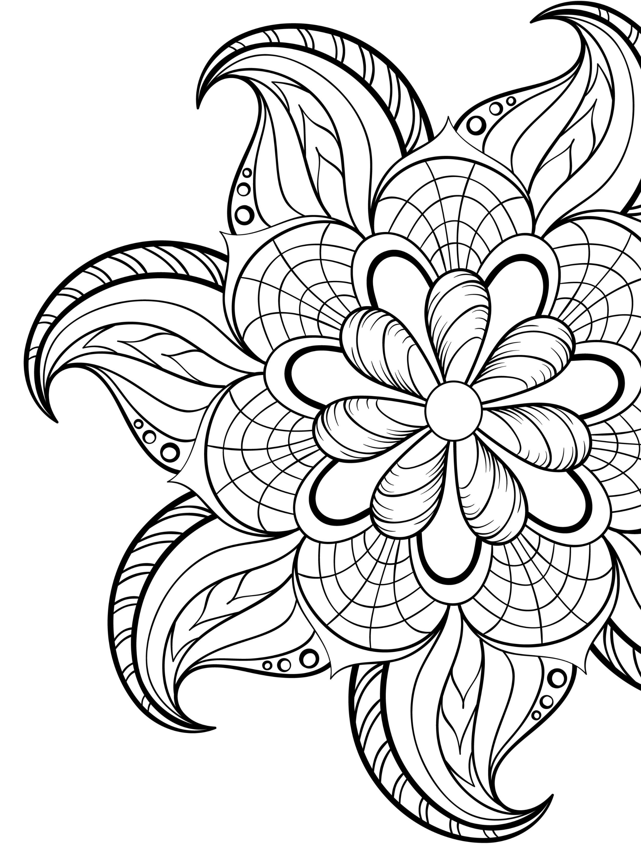 20 Gorgeous Free Printable Adult Coloring Pages … | Pictures | Print… - Free Printable Flower Coloring Pages For Adults