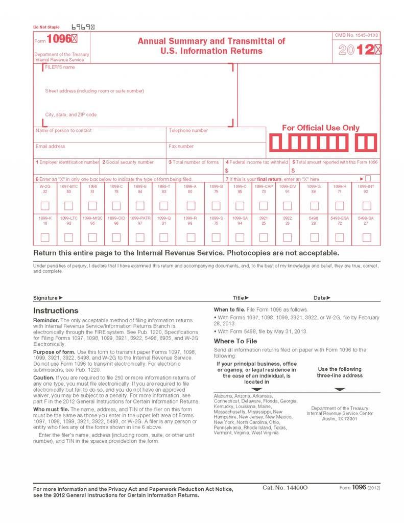 2017 Form 1099 Int Brilliant Bwsidebyside Form Templates - Free Printable 1096 Form 2015