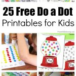 25 Free Do A Dot Printables For Kids To Play And Learn With   Free Printable Dot To Dot Easy