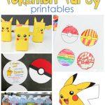 25+ Free Pokemon Party Printables   Cutesy Crafts   Free Printable Pokemon Masks
