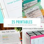 25+Free Printables For Organizing Home Life - Free Printable Home Organizer Notebook