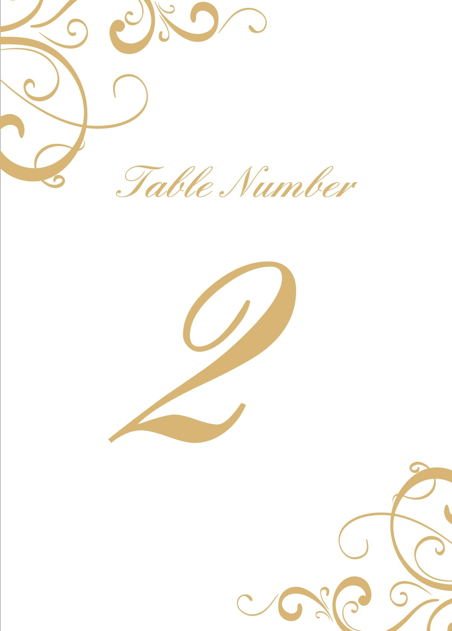 28 Elegant Printable Table Numbers | Kittybabylove - Free Printable Table Numbers