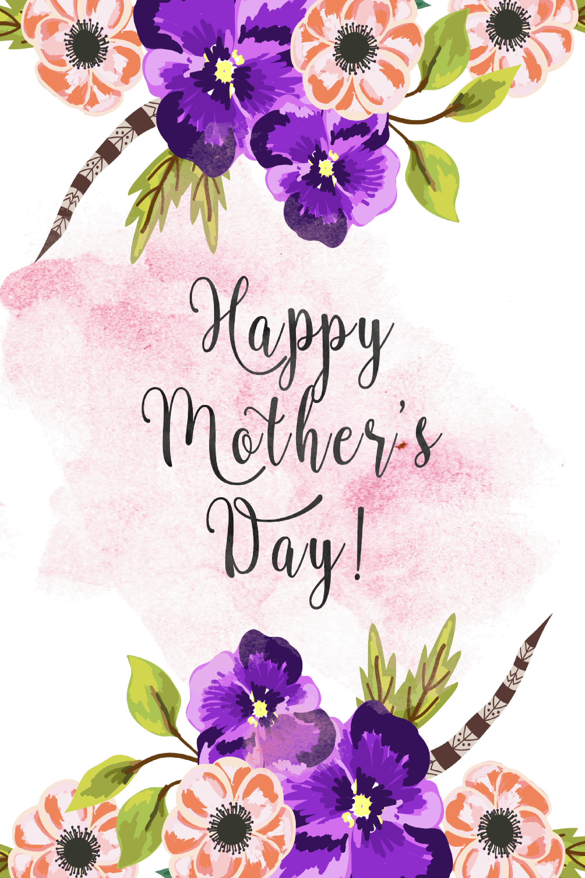 30 Cute Free Printable Mothers Day Cards - Mom Cards You Can Print - Free Printable Mothers Day Cards