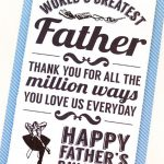 30 Free Printable Father's Day Cards   Cute Online Father's Day   Free Happy Fathers Day Cards Printable