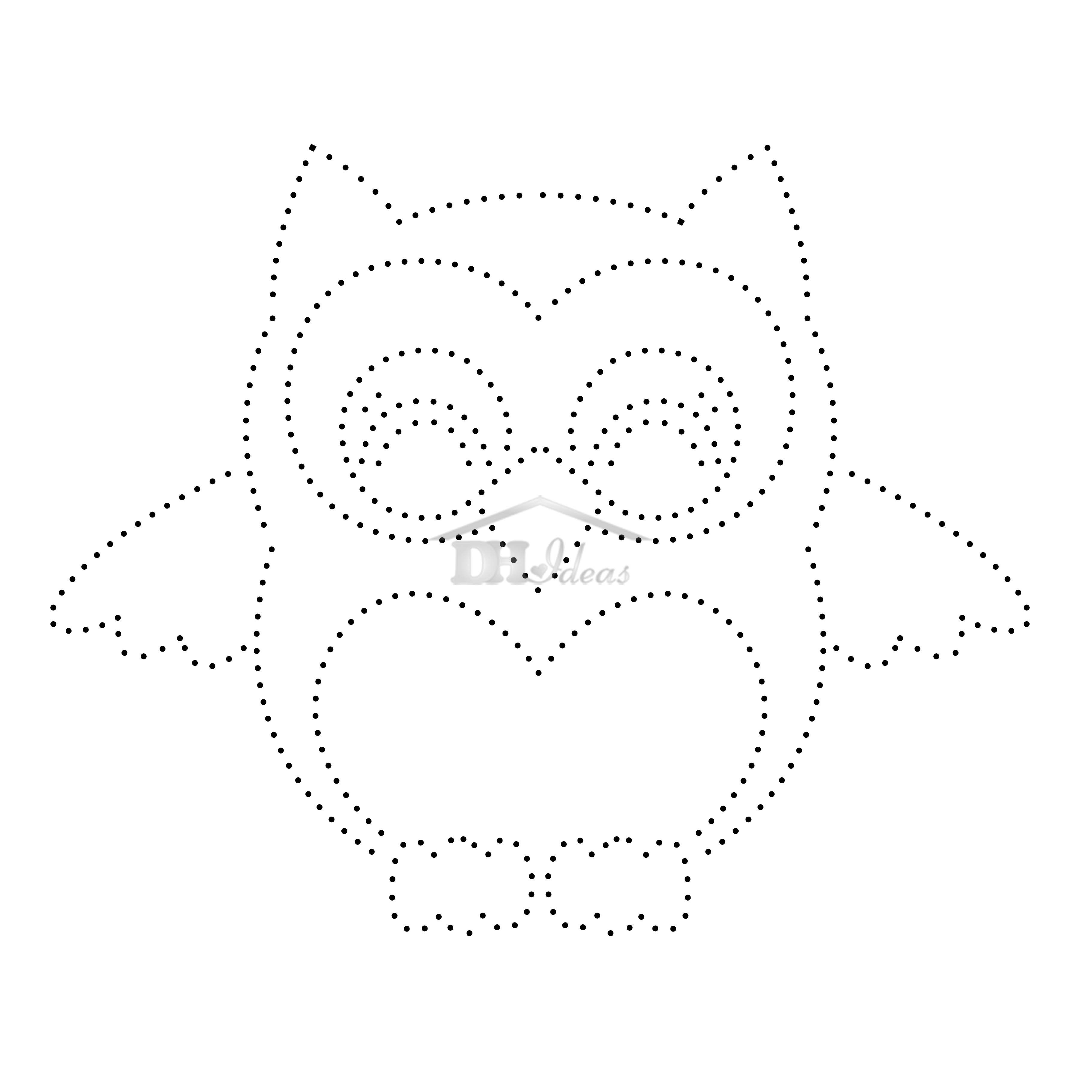 30 Free Printable String Art Patterns Direct Download Decor Home Owl - Free Printable String Art Patterns