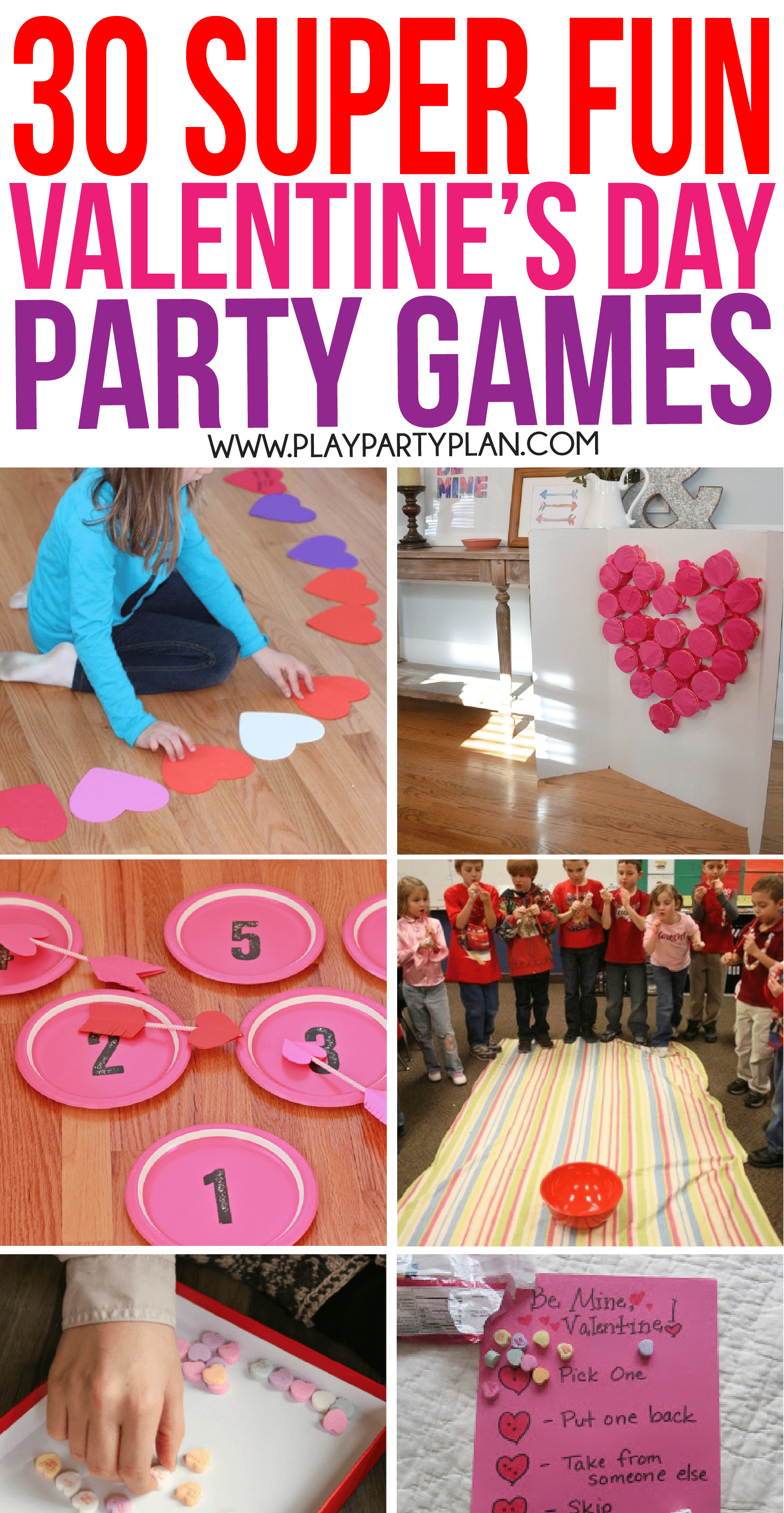 30 Valentine's Day Games Everyone Will Absolutely Love - Play Party Plan - Free Printable Women's Party Games