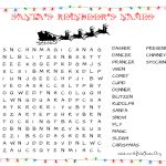 31 Free Christmas Word Search Puzzles For Kids – Free Printable Christmas Word Search Pages