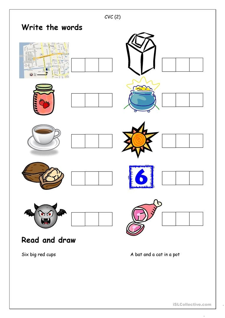 32 Free Esl Cvc Worksheets - Free Printable Cvc Worksheets
