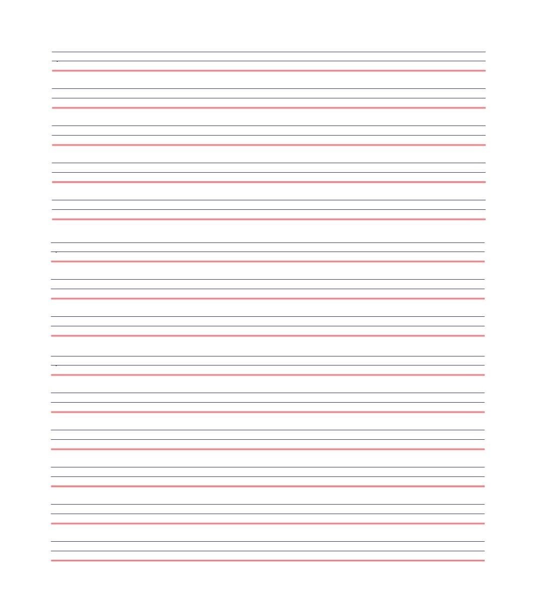 32 Printable Lined Paper Templates ᐅ Template Lab - Free Printable Notebook Paper
