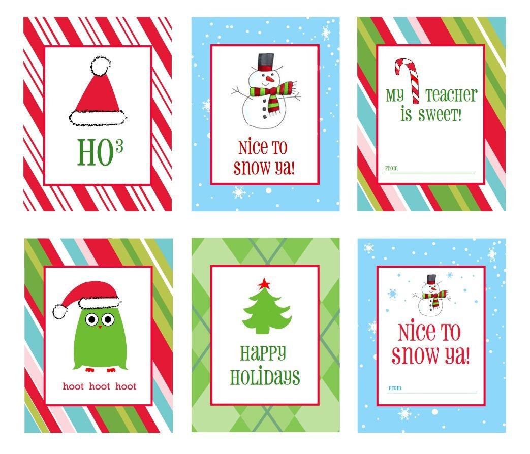 39 Sets Of Free Printable Christmas Gift Tags - Christmas Labels Free Printable Templates