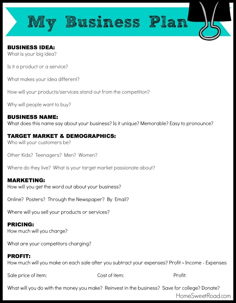 40+ Business Plan Templates Samples [With Examples And Guide] | All - Free Printable Simple Business Plan Template
