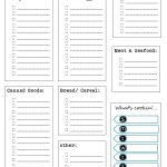 40+ Printable Grocery List Templates (Shopping List) ᐅ Template Lab   Free Printable Grocery List