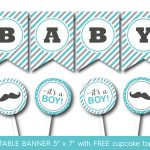 44 Cool Banner Letters | Kittybabylove   Free Printable Baby Shower Banner Letters