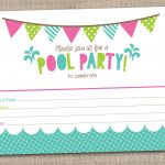 45 Pool Party Invitations | Kittybabylove – Free Printable Pool Party Invitation Cards