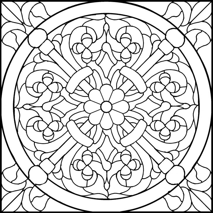 Free Printable Religious Stained Glass Patterns
