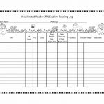 47 Printable Reading Log Templates For Kids, Middle School & Adults   Free Printable Reading Log
