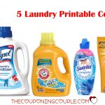 5 Laundry Detergent Printable Coupons ~ $5.50 In Savings!!!   Free All Detergent Printable Coupons