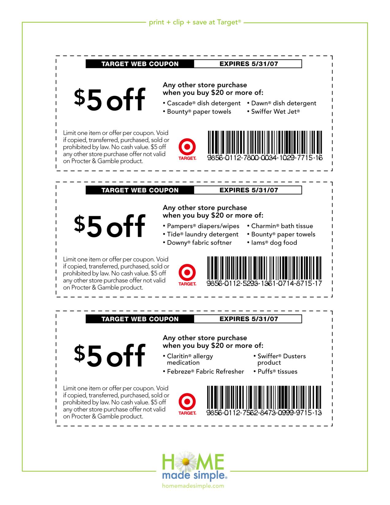 5-Off-Free-Printable-Coupons-Target - Free Printable Coupons 2017